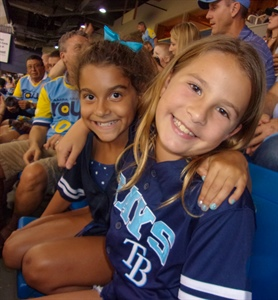 Bessolo Family Night at Tropicana Field