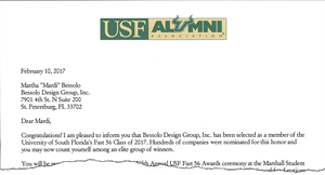 USF Fast 56 Award--and the winner is?
